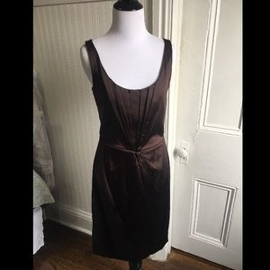 New cond't chocolate Calvin Klein dress, sz 4